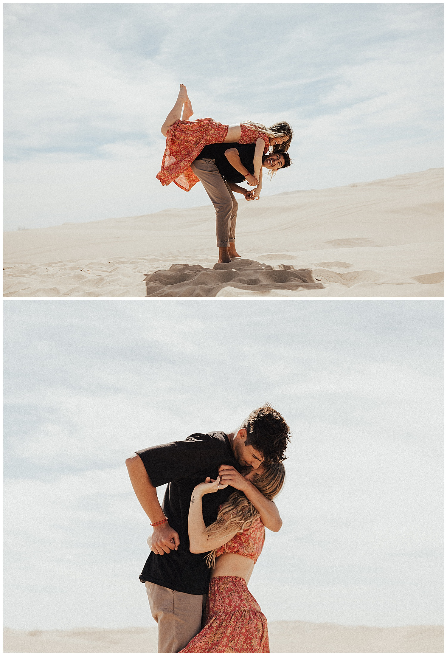 Glamis Sand Dunes Engagement photos, Engagement Photographer, elopement photographer, Sand dunes Engagement shoot, June Bug Weddings, Adventurous love story, hello may magazine